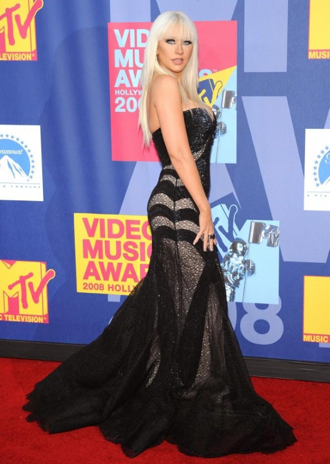 VMA 2008: Christina Aguilera, un désastre !