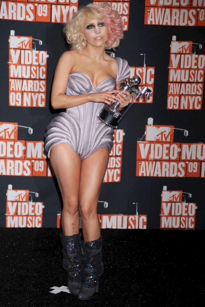 VMA 2009:  Gaga décalée au possible !