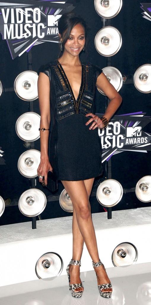 VMA 2011: Princesse du style comme d'Avatar !