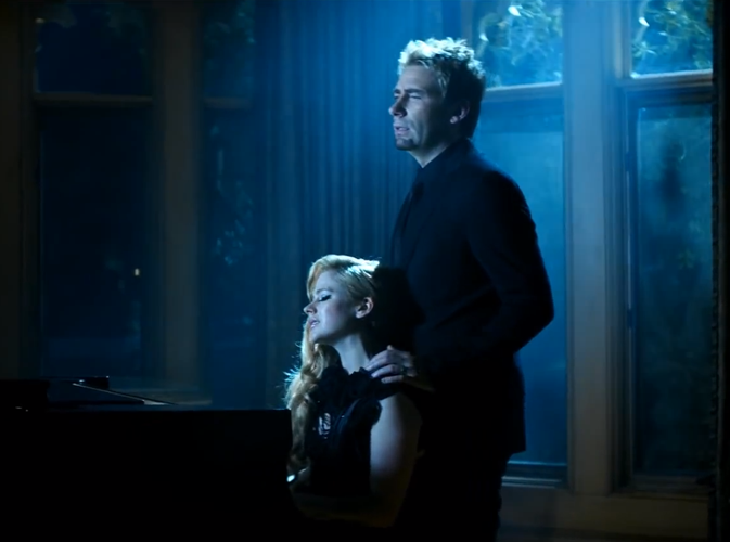 """Couples stars en chanson : Avril Lavigne et Chad Kroeger sur le titre """"Let Me Go"""""""