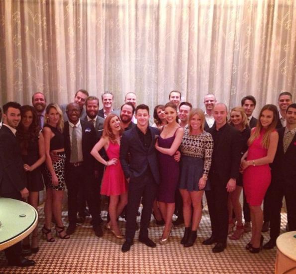 Nick Jonas célèbre son anniversaire à Las Vegas !