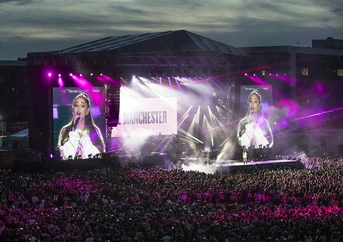 Ariana Grande de retour à Manchester pour One Love Manchester :