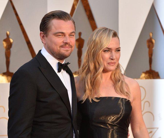 Leonardo Dicaprio complice avec sa grande amie Kate Winslet