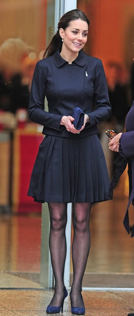 Kate Middleton - après