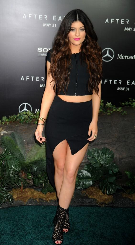 Kylie Jenner - après