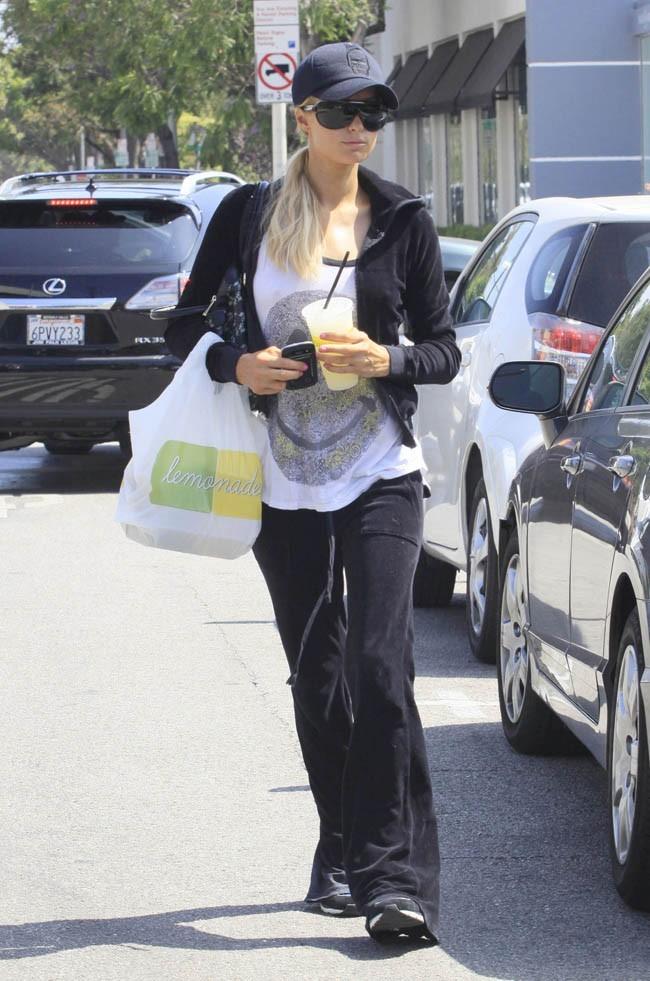 Paris Hilton le 3 juillet à Los Angeles