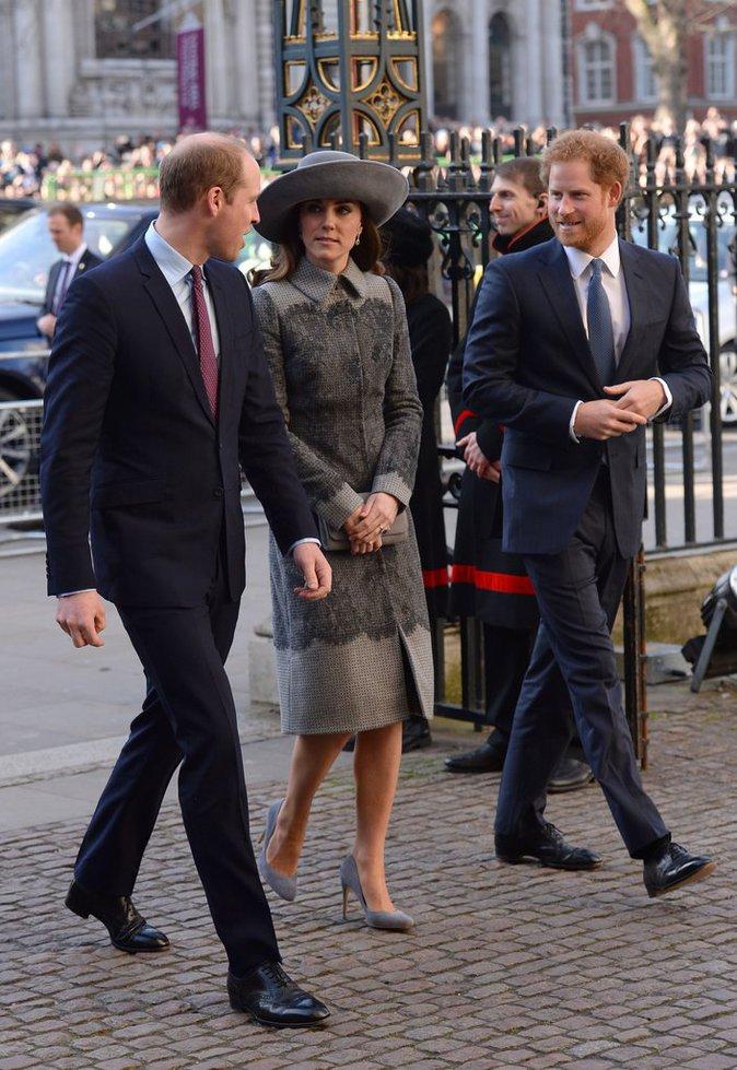 L'arrivée de la famille royale