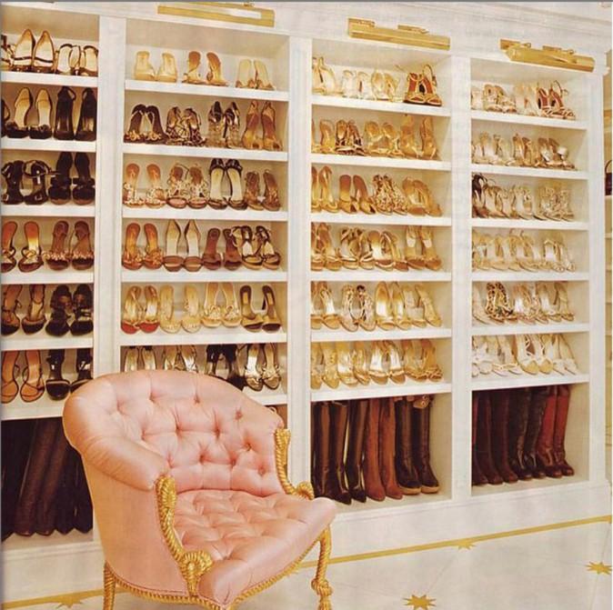 """Le """"placard"""" à chaussures de Mariah Carey"""