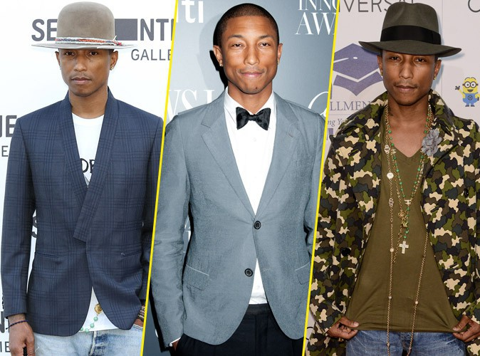 Photo : Pharrell Williams élu fashion icône de l'année !