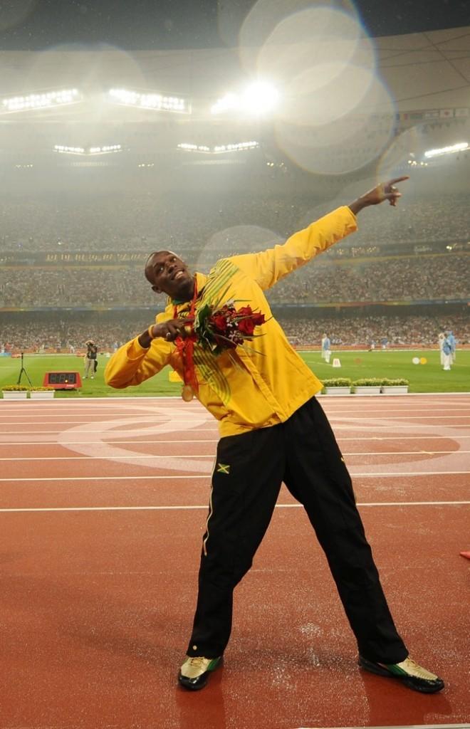 2008: A Beijing Usain reçoit sa seconde médaille d'or