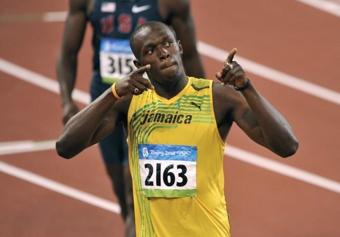 2008: Au J.O de Beijing pour la demi-finale du 200 mètres