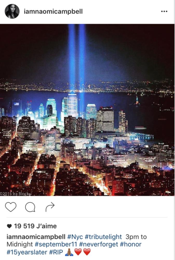 Photos : 15 ans après les attentats du 11 septembre, l'hommage des stars