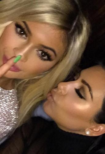 Kylie Jenner et Kim Kardashian lors des 18 ans de Kylie Jenner