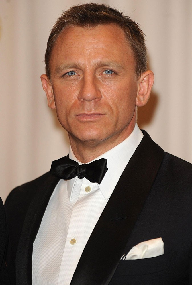 Photos : Daniel Craig est James Bond