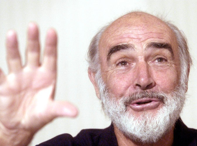 Photos : Sean Connery en 2002