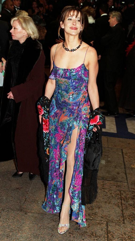 Photos : Sophie Marceau est la James Bond girl de Le monde ne suffit pas, ici à la Première du film