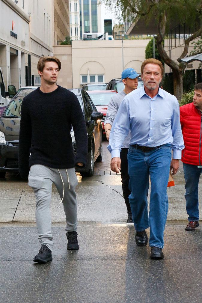 Photos : Ces 47 papas ont offert la célébrité en héritage à leurs enfants : Arnold Schwarzenegger et Patrick Schwarzenegger