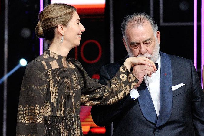 Photos : Ces 47 papas ont offert la célébrité en héritage à leurs enfants : Sofia Coppola et Francis Ford Coppola