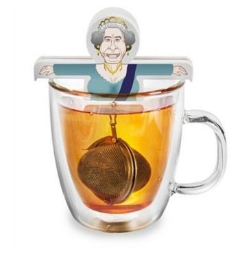 "Boule à thé ""Reine Elizabeth"",  Bathroom & Graffiti,  9,90 euros"