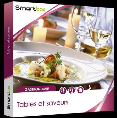 Smartbox Tables et saveurs,  99,90 euros