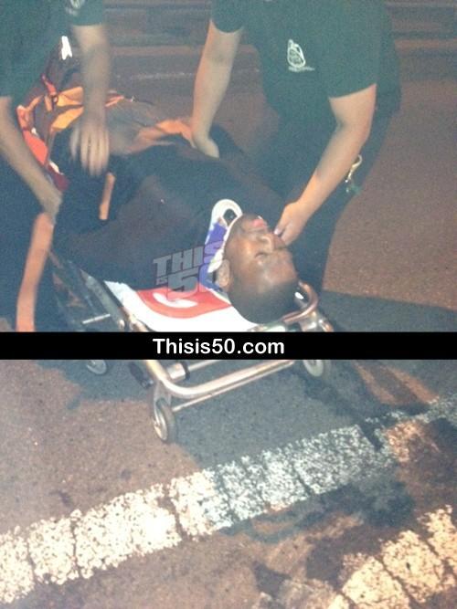 50 Cent, blessé dans la nuit du 25 juin 2012