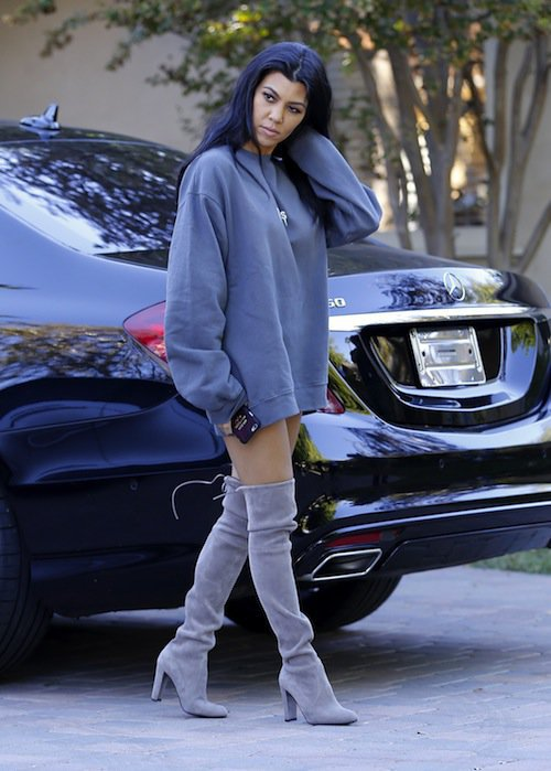 Photos : 50 Nuances de Grey chez les Kardashian-Jenner !