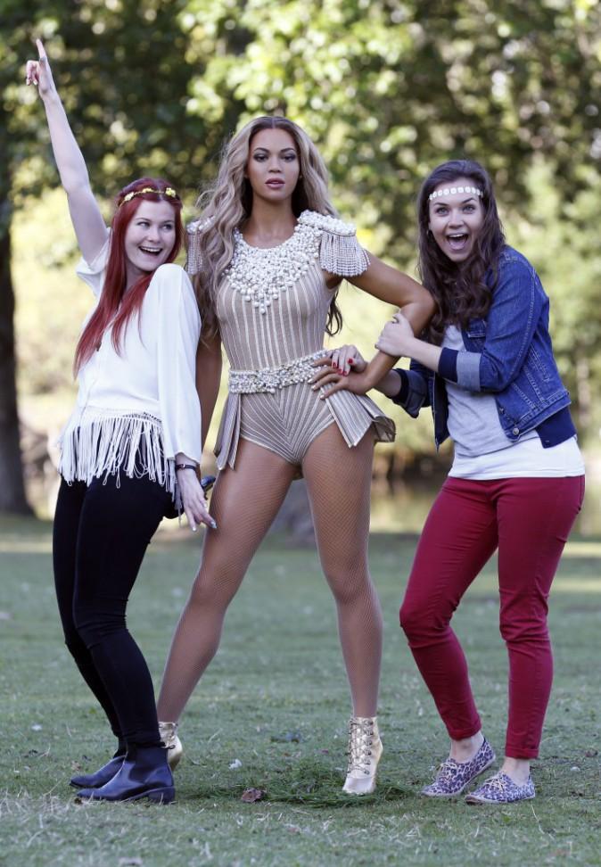 Beyoncé : sa statue de cire, très réussie, est exposée dans un parc de Londres !
