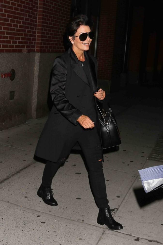 Kris Jenner : à New York pour soutenir sa fille, elle fait un passage chez Kanye West !