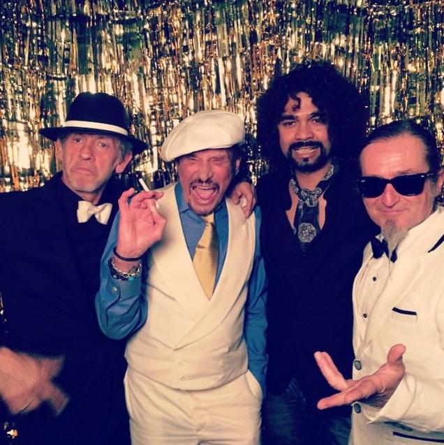 Johnny Hallyday le 14 juin 2015