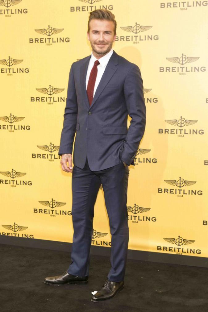 David Beckham : contrarié, il est encore plus sexy que d'habitude !