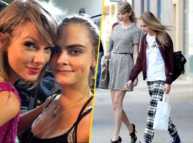 Taylor et Cara Delevingne