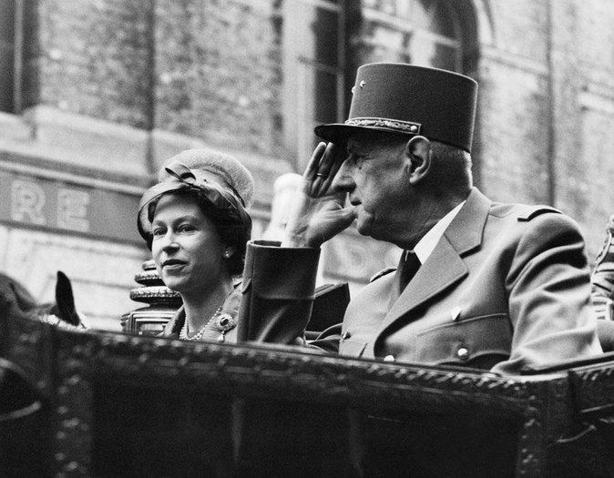 Avec Charles de Gaulle