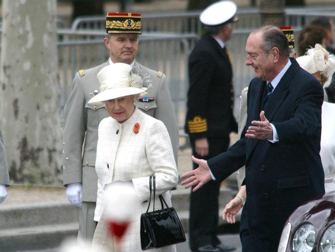 En France, avec Jacques Chirac