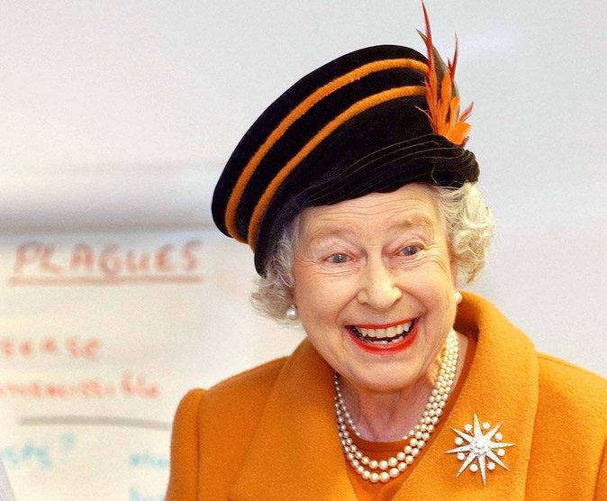 Plutot fun, la reine !