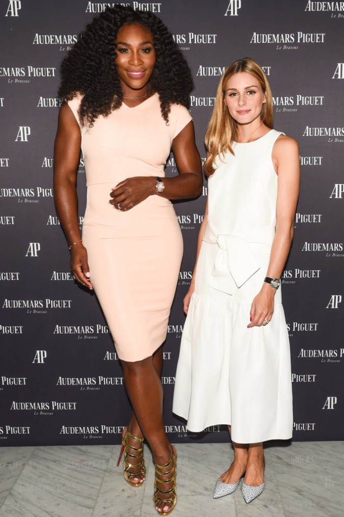 Serena Williams et Olivia Palermo