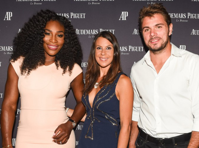 Serena Williams, Marion Bartoli et Stan Wawrinka