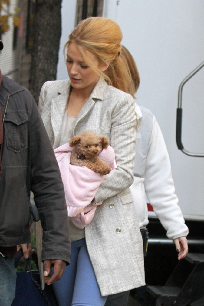 ...avec son adorable chien Penny !