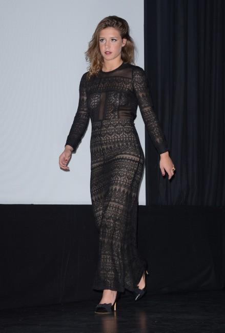 Adèle Exarchopoulos lors du Festival International du Film de Toronto, le 5 septembre 2013.