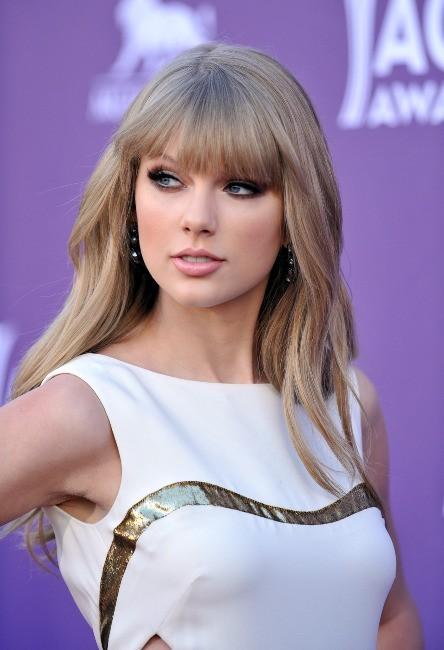 Taylor Swift lors de la soirée des ACM 2012 à Las Vegas, le 1er avril 2012.