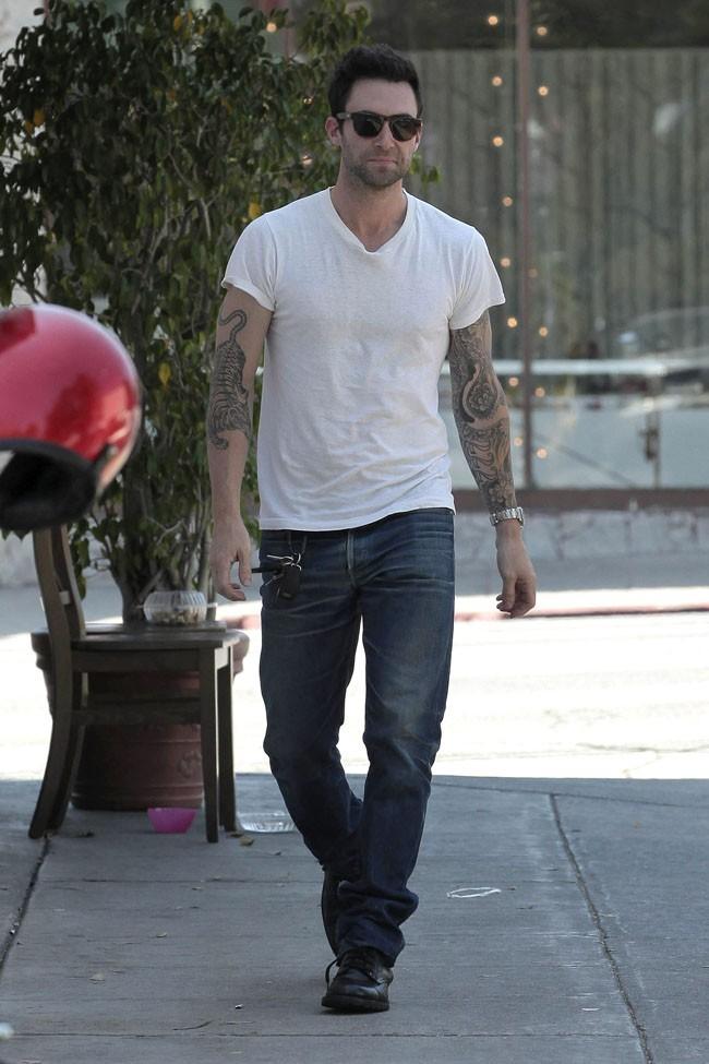 Adam Levine le 7 août 2012 à Los Angeles