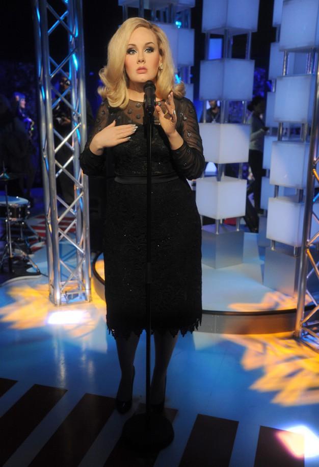La statue d'Adele inaugurée au Musée Madame Tussaud le 19 février 2014