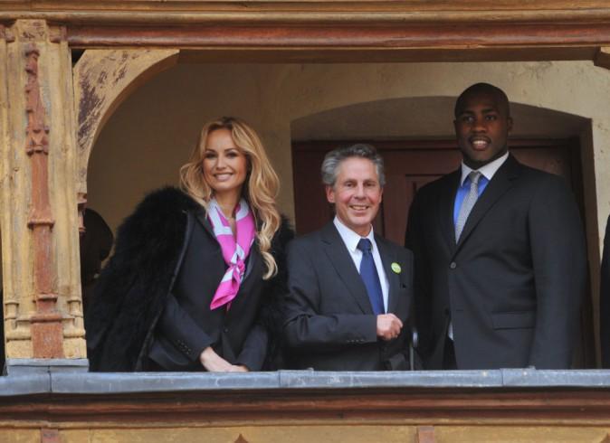 Photos : Adriana Karembeu et Teddy Riner : duo complice et engagé à la vente des vins des Hospices de Beaune !