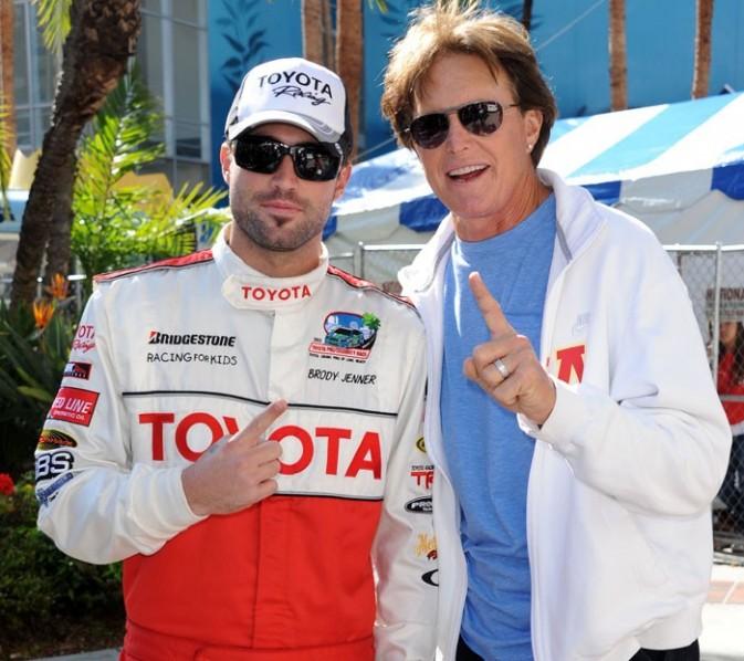 Brody avec son père, Bruce Jenner