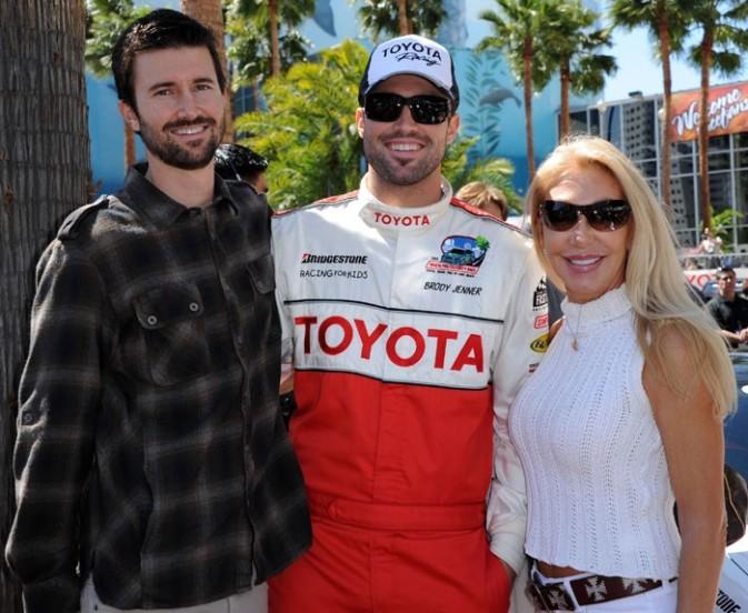Brody Jenner avec son frère et sa mère