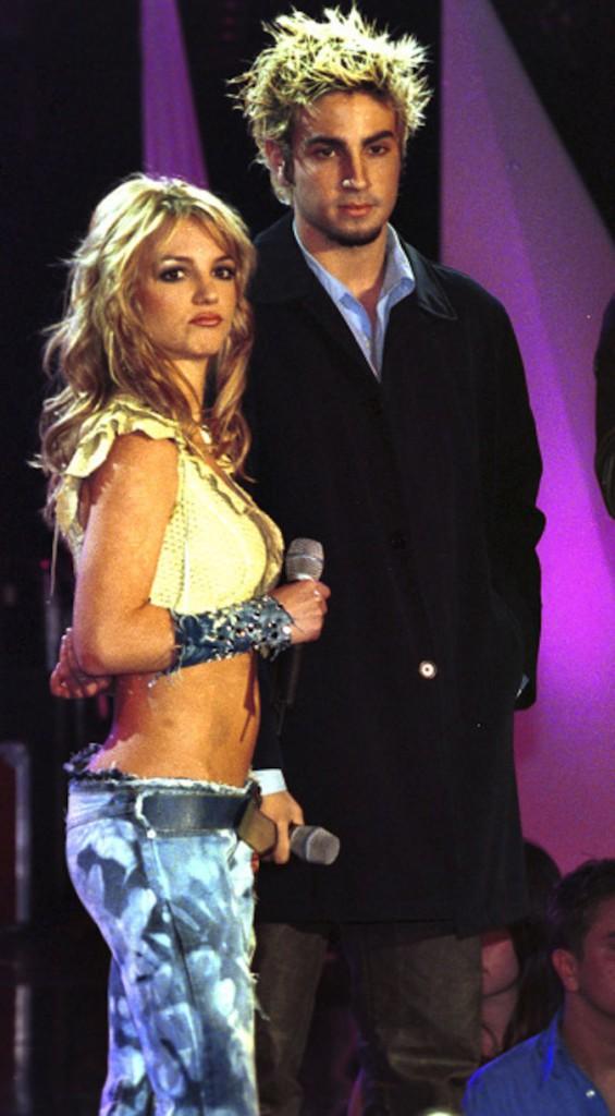 Britney Spears et Wade Robson, son chorégraphe d l'époque avec qui elle aurait trompé Justin !