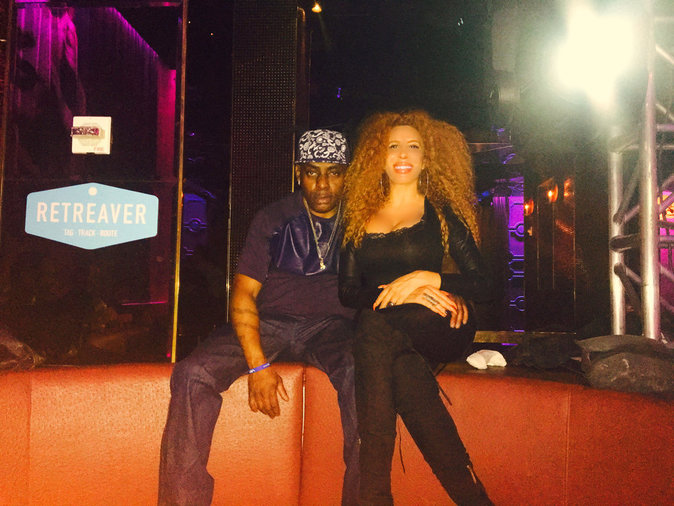Afida Turner et Coolio