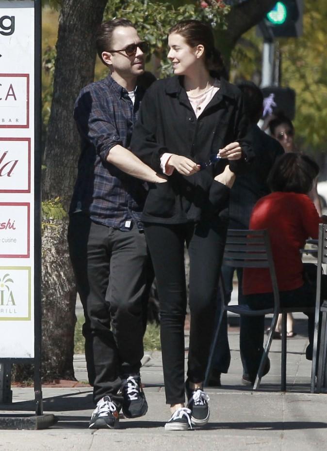 Agyness Deyn et son mari Giovanni Ribisi dans les rues de Los Angeles !