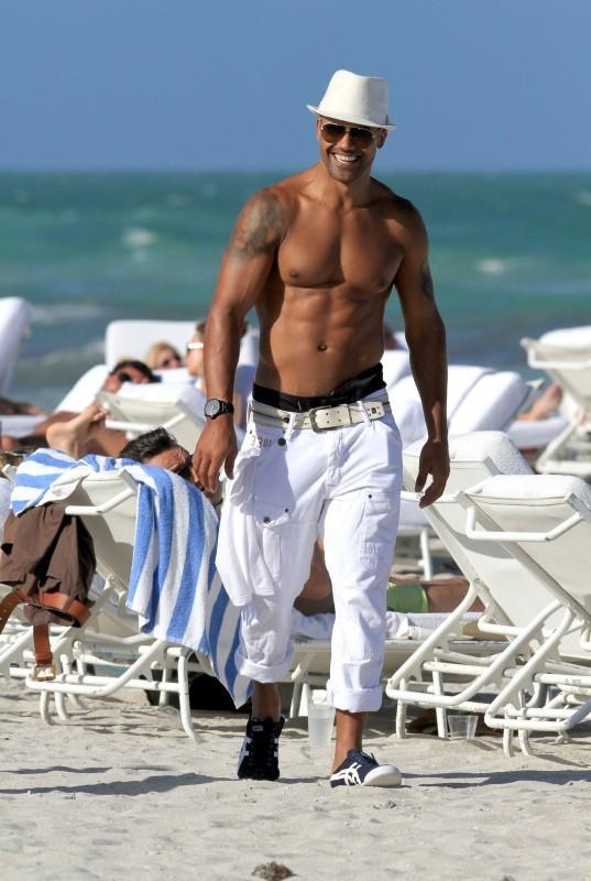 Shemar Moore à Miami, le 2 mai 2012.