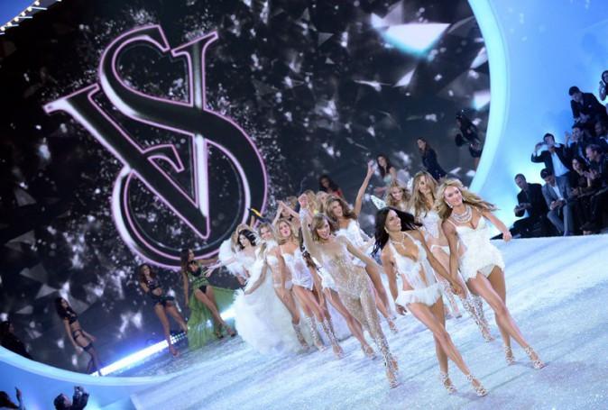 Le final du Victoria's Secret Fashion Show, à New-York, le 13 novembre 2013