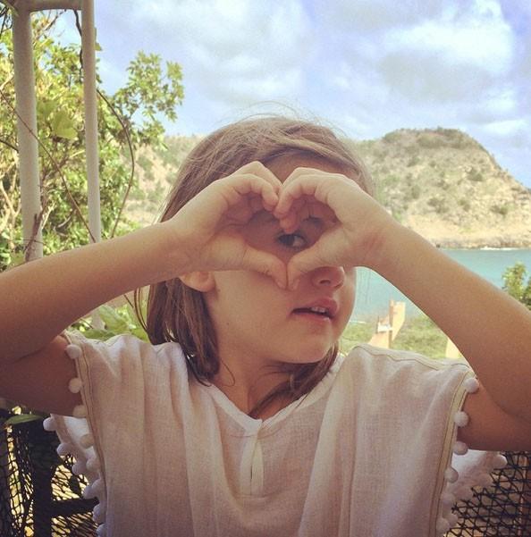 Alessandra Ambrosio et ses vacances familiales à Saint-Barthélémy
